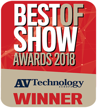 AV Technology Best of Show Awards 2018
