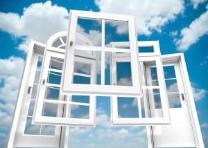 Displays as Windows to the Cloud