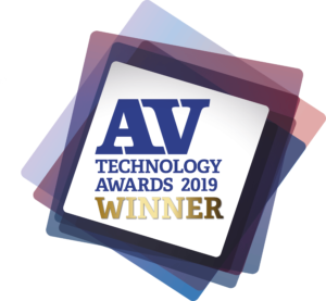 AV Technology Awards 2019 Winner