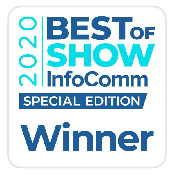 AV Technology Best of Show at InfoComm 2020