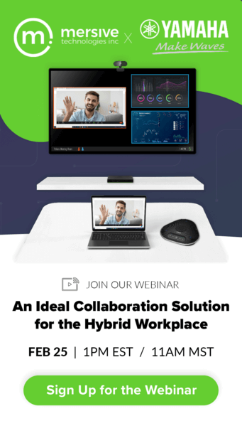 Yamaha Alliance Webinar Pop up