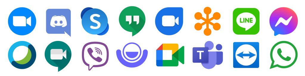 Agnostic Conferencing Icons